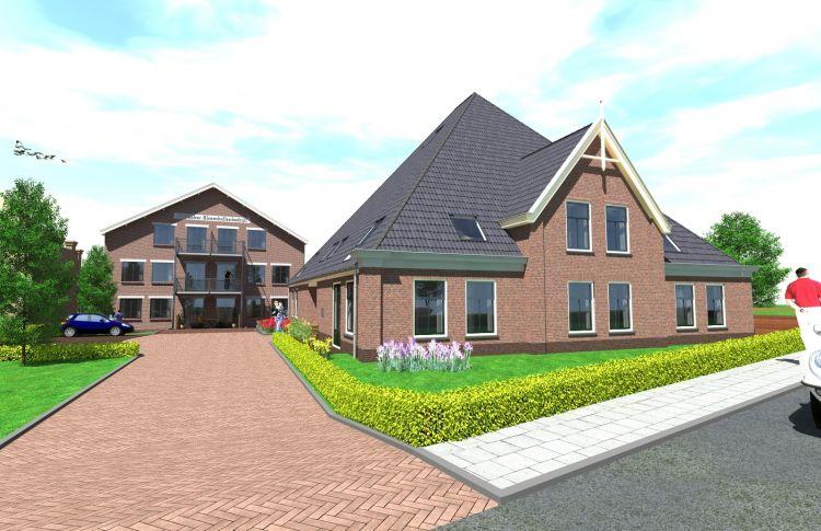 bouw 26 appartementen
