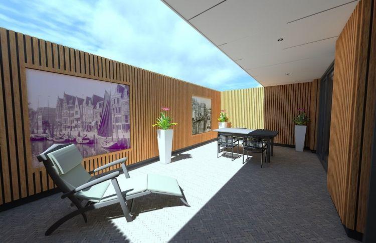 Verbouw kantoor tot woonruimte